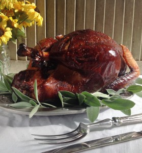 apple thyme sage smoked turkey recipe