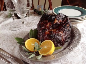 how to prepare a smoked ham
