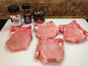 Prep your pork loin chops for a brine